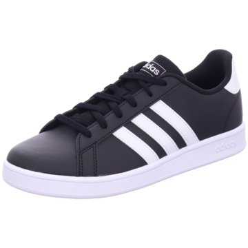 adidas Sneaker LowGRAND COURT K - EF0102 schwarz