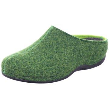 Westland Hausschuh grün