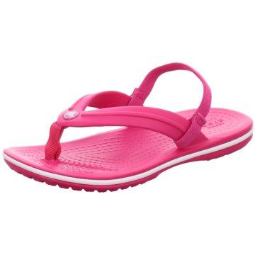 CROCS Zehenschuhe pink
