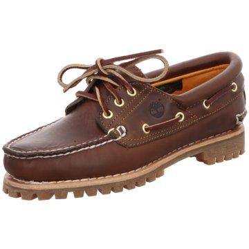Timberland BootsschuhHeritage Noreen 3-Eye braun