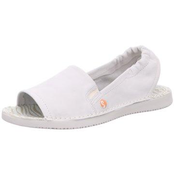 Softinos Komfort Sandale weiß