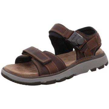 Clarks Komfort Schuh braun