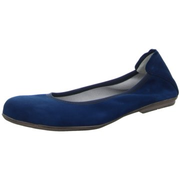 Däumling Ballerina blau
