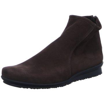 Arche Barosa Damen-Schuhe Winterschuhe Stiefelette Schwarz Leder Made in France