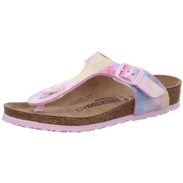 Birkenstock Gizeh Kids MF Water Color Mult