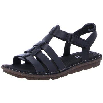 Clarks Komfort SandaleBlake Jewel schwarz