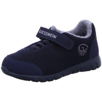 Giesswein SchnürschuhMerino Wool Runner blau