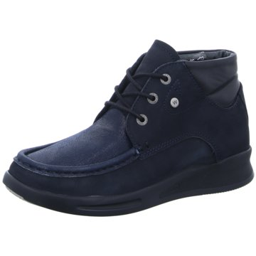 Wolky Komfort Stiefel blau