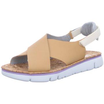 Camper Komfort Sandale beige
