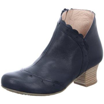 Brako Komfort Stiefelette blau