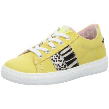 Red Rag Sneaker Low gelb