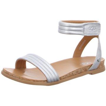 UGG Australia Sandalette silber