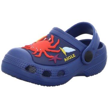 Aigle Offene Schuhe blau