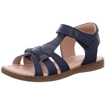 Bisgaard Offene Schuhe blau