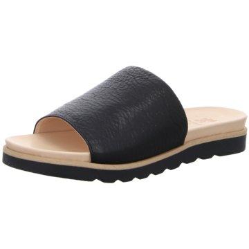 Werner Schuhe Klassische Pantolette schwarz