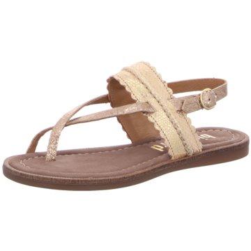 Bisgaard Offene Schuhe beige