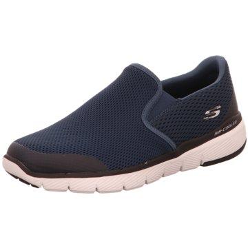 Skechers Komfort Slipper blau