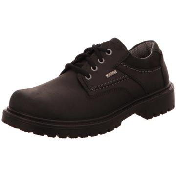 Jomos Komfort Schnürschuh schwarz