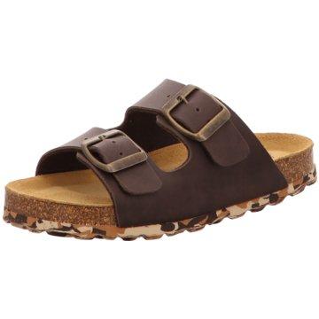 Sommerkind Offene Schuhe braun
