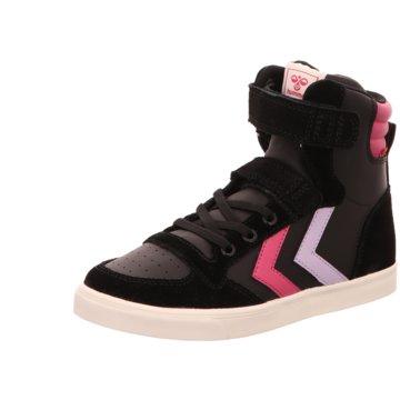 Hummel Sneaker High schwarz