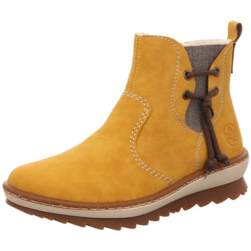 Rieker Ankle Boot gelb