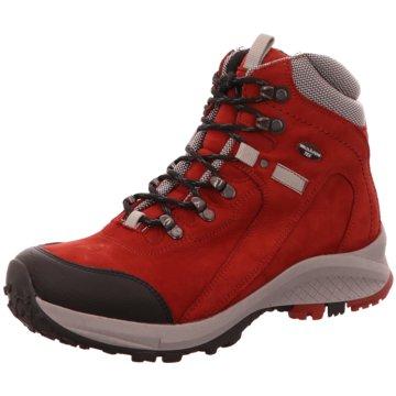 Waldläufer Wanderhalbschuhe rot