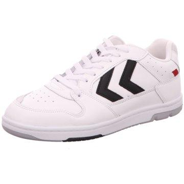 Hummel Sneaker Low weiß