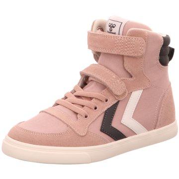 Hummel Sneaker High rosa