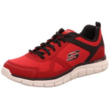 Skechers Sportlicher Schnürschuh rot