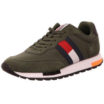 Tommy Hilfiger Sneaker LowRetro  TJM Mix PoP grün