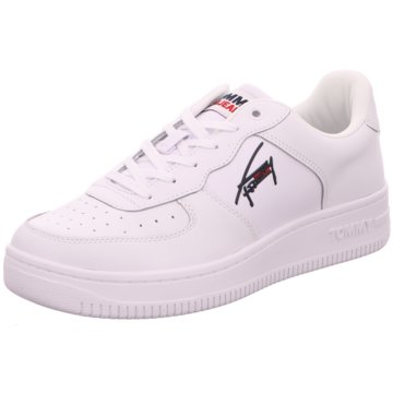 Tommy Hilfiger Sneaker LowBasket Cupsole TJM weiß