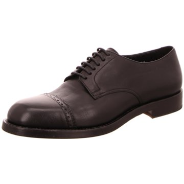 DOUCAL´S Eleganter Schnürschuh schwarz