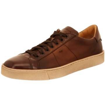 Santoni Sneaker Low braun