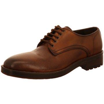 Prime Shoes Klassischer Schnürschuh braun