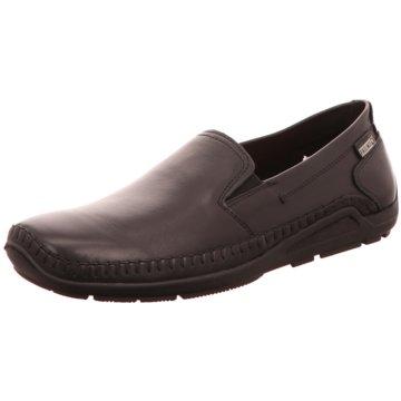 Pikolinos Komfort Slipper schwarz