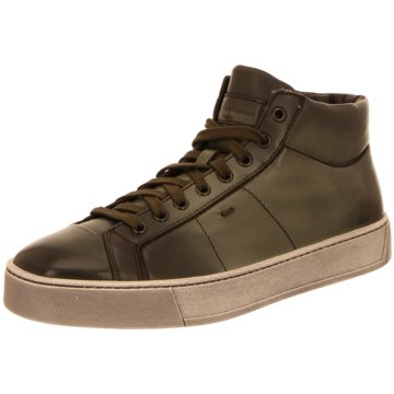 Santoni Sneaker High grün