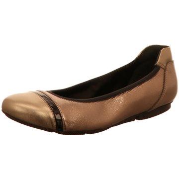 Hogan Klassischer Ballerina gold