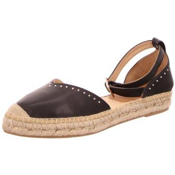 Capiccio Espadrilles Sandalen schwarz