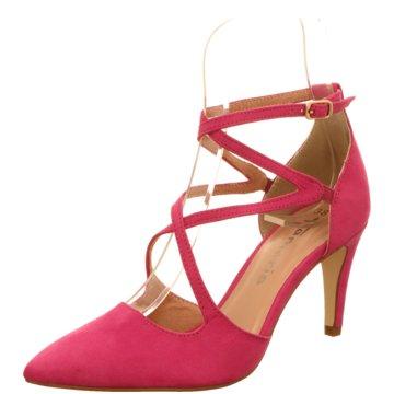Tamaris Riemchenpumps pink