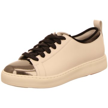 Santoni Sneaker weiß