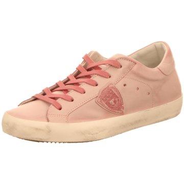 Philippe Model Sportlicher Schnürschuh rosa