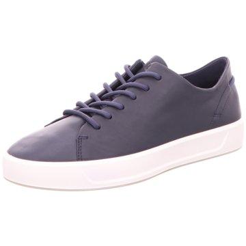 Ecco Sneaker LowECCO SOFT 8 WOMENS blau