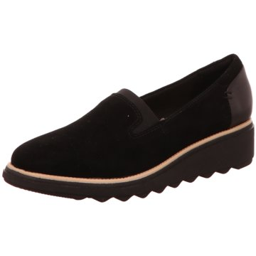 Clarks Komfort SlipperSharon Dolly schwarz