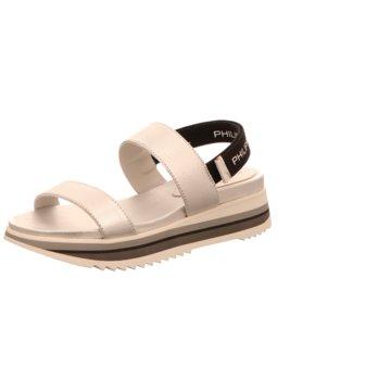 Philippe Model Sandale silber
