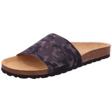 Verbenas Klassische Pantolette schwarz