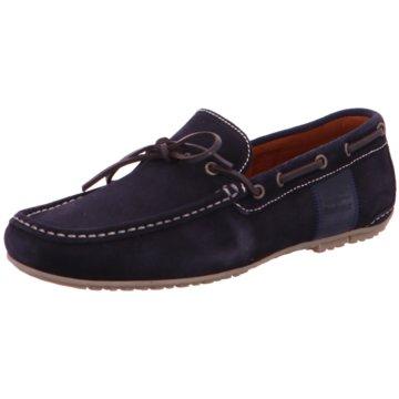Barbour Bootsschuh blau
