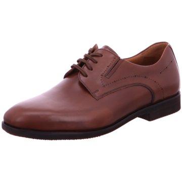 Weber Schuhe Business Schnürschuh braun