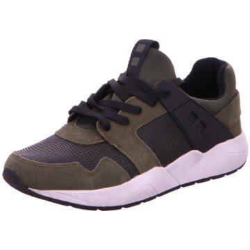 Mundart Sneaker Low grün