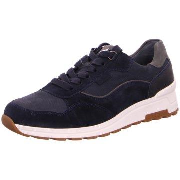 Waldläufer Sneaker Low blau