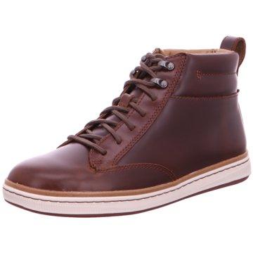 Clarks Sneaker High braun